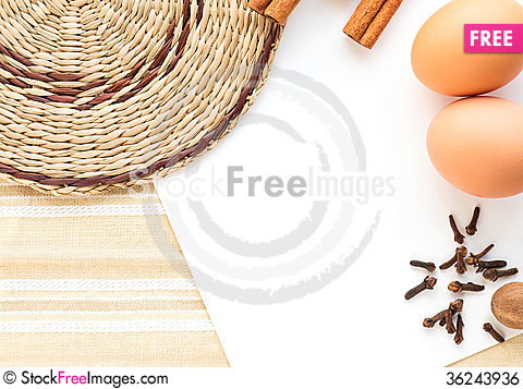 Free Pastry Recipe Royalty Free Stock Image - 36243936