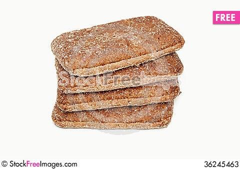 Free Fresh Bread Isolated Stock Photos - 36245463