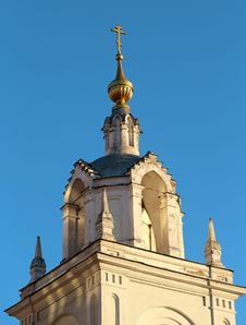 Free Belfry In The Center Of Moscow Stock Photography - 36243692