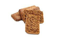 Free Fresh Bread Isolated Royalty Free Stock Photography - 36245217