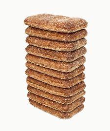 Free Fresh Bread Isolated Royalty Free Stock Photos - 36245238