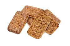 Free Fresh Bread Isolated Royalty Free Stock Photo - 36245275