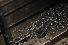 Free Metal Shavings Stock Photos - 36245293