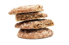 Free Fresh Bread Isolated Royalty Free Stock Images - 36245409