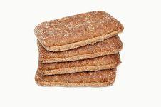 Fresh Bread Isolated Stock Photos