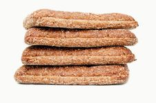 Free Fresh Bread Isolated Royalty Free Stock Image - 36245516