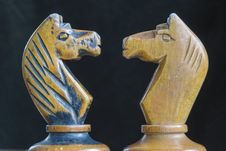 Free Chess Knights Royalty Free Stock Photography - 36248577