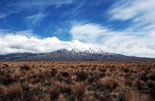 Free Mount Ruapehu Royalty Free Stock Image - 36248706