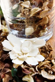 Potpourri,dry Flowers Royalty Free Stock Image