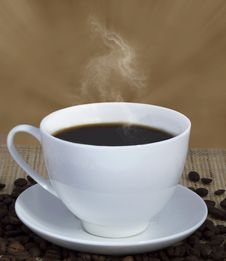 Free Cup Of Coffee Royalty Free Stock Photos - 36259818