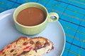 Free Fruitcake With Hot Coffee Royalty Free Stock Photos - 36261548