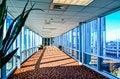 Free Modern Corporate Architecture Skywalk Stock Photos - 36265453