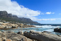 Free Beautiful Camps Bay Beach And Twelve Apostles Mountain Royalty Free Stock Image - 36265856