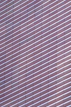 Abstract Ribbed Surface Texture Royalty Free Stock Image
