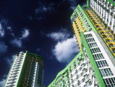 Free Brand New Apartments. Royalty Free Stock Photo - 36264575