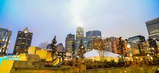 Charlotte City Skyline Stock Images