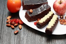 Free Sweets And Fruits Royalty Free Stock Image - 36268146
