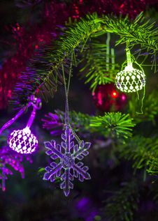 Free Christmas Tree Ornament Stock Photo - 36271960