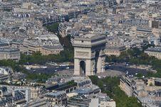 Free Arc De Triomphe, Paris Royalty Free Stock Photography - 36278427