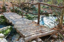 Free Wooden Bridge Stock Photography - 36279082