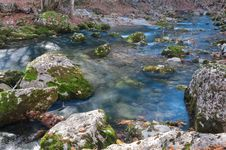 Crimea Mountain Rivers Stock Photos