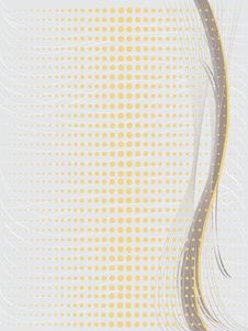 Free Gray Background With Yellow Dots. Royalty Free Stock Image - 36279226