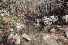 Free Crimea Mountain Rivers Stock Photo - 36279690