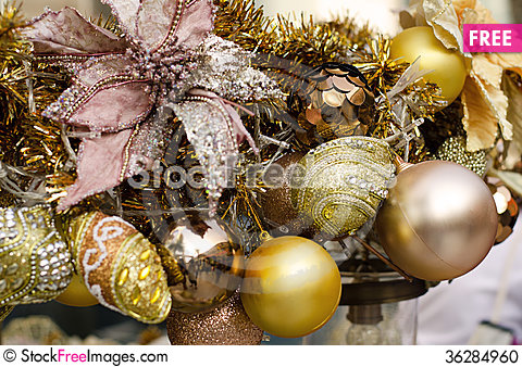 Free Christmas Decoration Stock Photo - 36284960