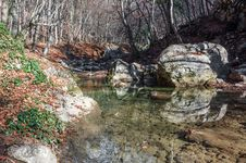 Free Crimea Mountain Rivers Royalty Free Stock Photos - 36280128