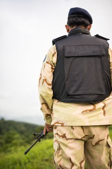 Free Soldier Guardian Stock Photos - 36280593