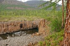 Free Mountain River In The Rocks. Royalty Free Stock Images - 36280919