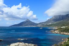 Free Beautiful Camps Bay Beach And Lion Head Mountain Royalty Free Stock Photos - 36284218