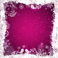 Free Purple Christmas Frame Stock Photography - 36297672