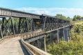Free Black Steel Bridge Royalty Free Stock Photography - 36297757