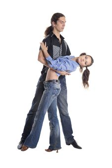 Free Dancing Couple Stock Image - 36290161