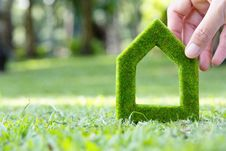 Free Green House Icon Stock Photos - 36292313