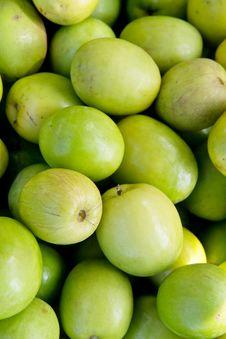 Fresh Monkey Apple Fruit Royalty Free Stock Photo