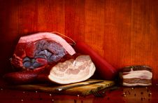 Meat Products Royalty Free Stock Images