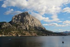Free Golithsyn Path And The Mountain Sokol, Crimea Stock Images - 36296274