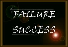 Free Success Or Failure Royalty Free Stock Image - 36297526