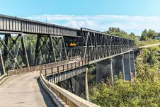 Free Black Steel Bridge Royalty Free Stock Photography - 36297757