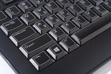 Free Black Computer Keyboard Royalty Free Stock Photography - 36298117