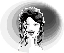 Free Smiling Lady Royalty Free Stock Photography - 3630177