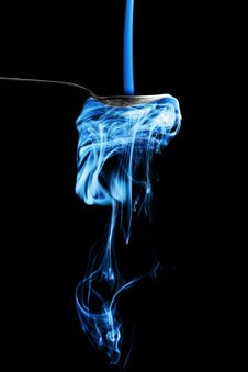 Free Smoky Spoon - Blue Stock Photography - 3630252