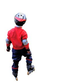 Free The Boy On Rollers. Royalty Free Stock Images - 3630539