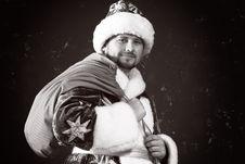 Free Christmas Bag Royalty Free Stock Image - 3630576