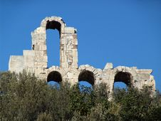 Free The Odeon Of Herodes Atticus Stock Photo - 3630730