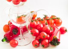 Free Tomato Party Royalty Free Stock Photo - 3630765