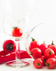 Free Tomato Party Stock Photography - 3630772