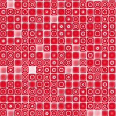 Free Seamless Texture Background Mosaic Red Royalty Free Stock Images - 3630899